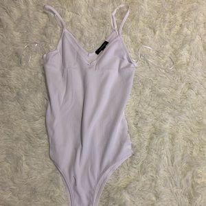 White Bodysuit   FashionNova